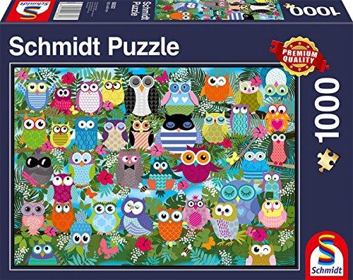 Schmidt Spiele Owl Collage II Jigsaw -