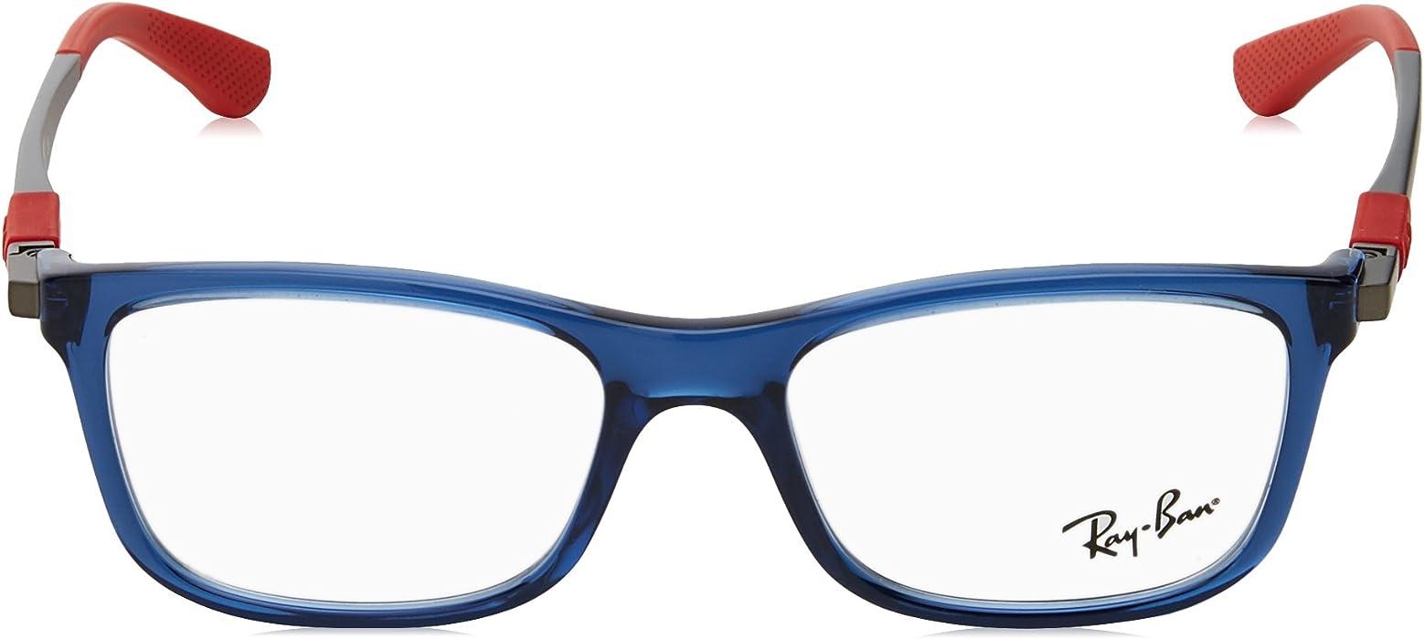 a48abd9cc5 RY1549 Eyeglass Frames 3734-48 - Trasparent Blue RY1549-3734-48. Ray-Ban ...