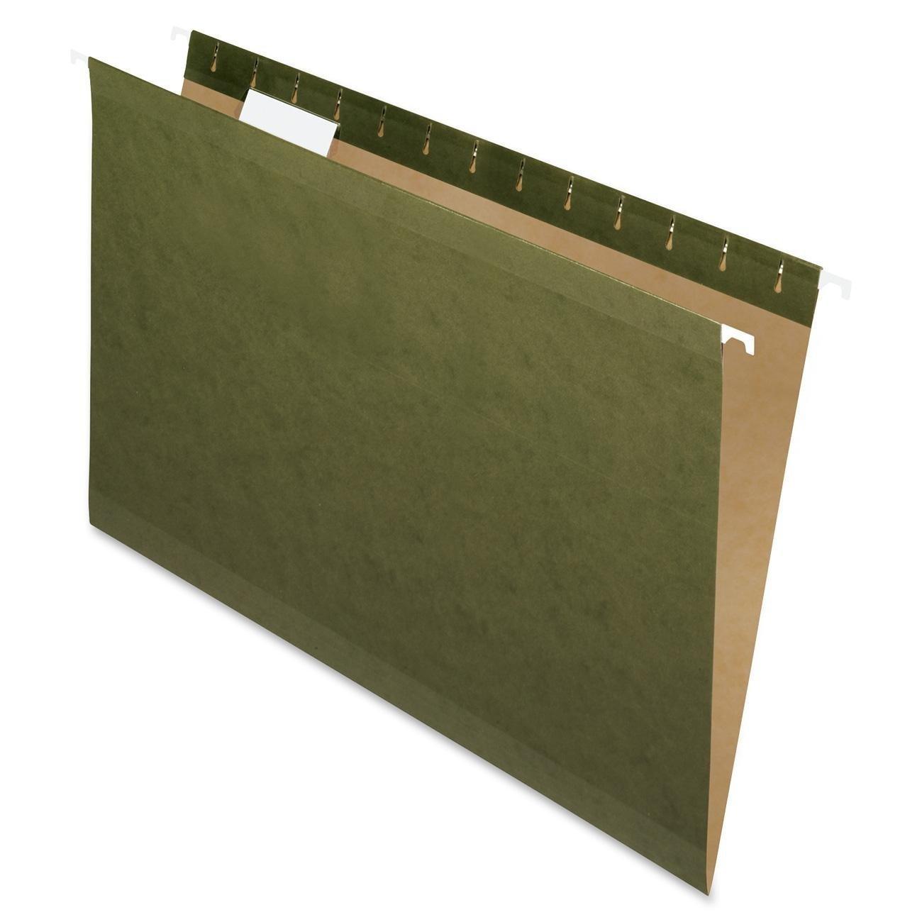 Pendaflex Standard Green, Legal size, Hanging File Folder,25 per box 2-Pack