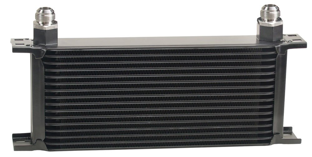 Derale 51610 16 Row Core Stacked Plate Cooler Kit by Derale
