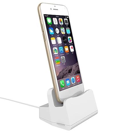 Porta Iphone Da Scrivania.Ibaste Porta Cellulare Caricabatterie 2 In 1 Cellulare Da Scrivania