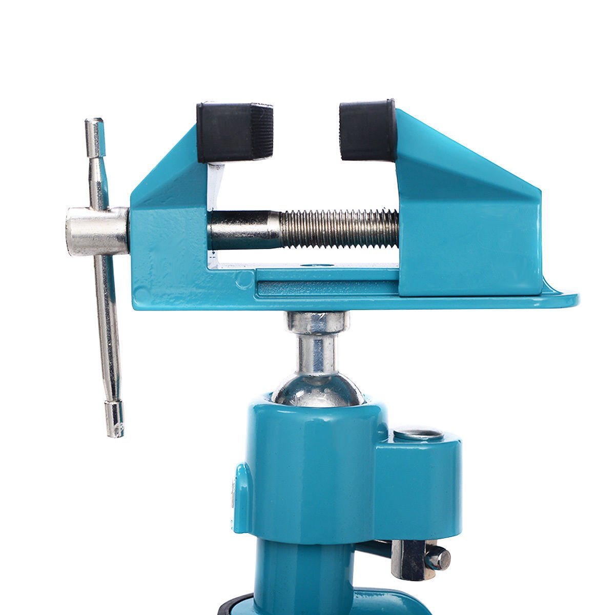 Goplus Bench Vise Swivel 3'' Tabletop Clamp Vice Tilts Rotate 360° Universal Work by Goplus (Image #4)