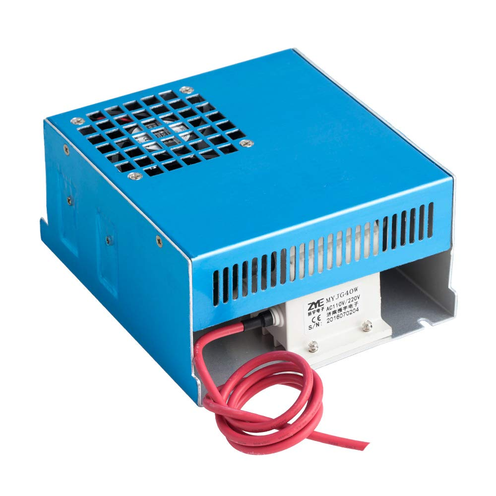 Cloudray 40W PSU Laser Power Supply 110V/220V for CO2 Laser Engraver Cutter MYJG 40W by Cloudray (Image #4)