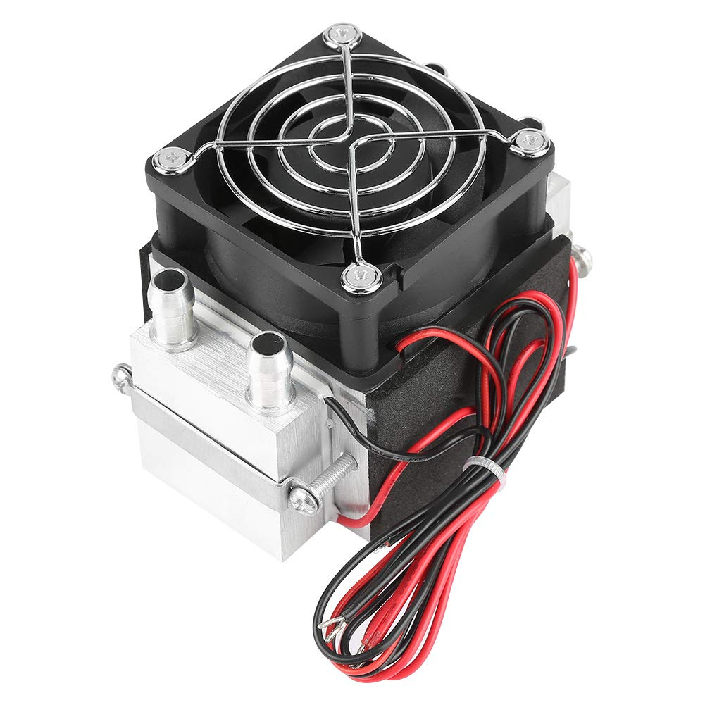 2-chip Semiconductor Cooler 12V 15A 240W Semiconductor Refrigeration Cooling System DIY Air Conditioner