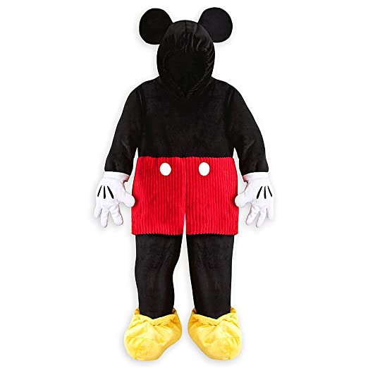 Disney Store Deluxe Mickey Mouse Plush Halloween Costume Kids Size S Small 5 - 6 5T  sc 1 st  Amazon.com & Amazon.com: Disney Store Deluxe Mickey Mouse Plush Halloween Costume ...