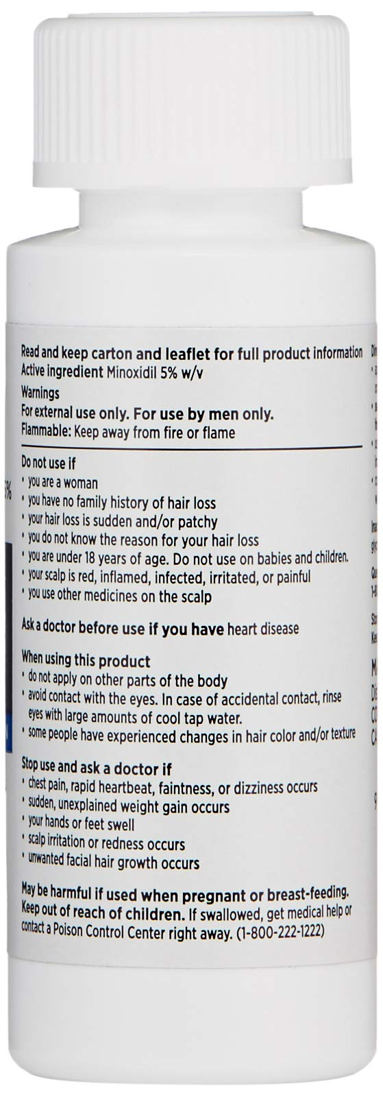 Nioxin Minoxidil Hair Regrowth Treatment Men, 6 oz. by Nioxin (Image #5)