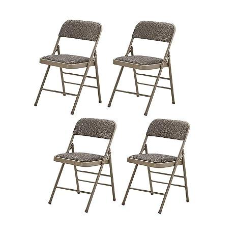 Z-chair Silla Plegable Silla De Oficina Plegable De Metal ...