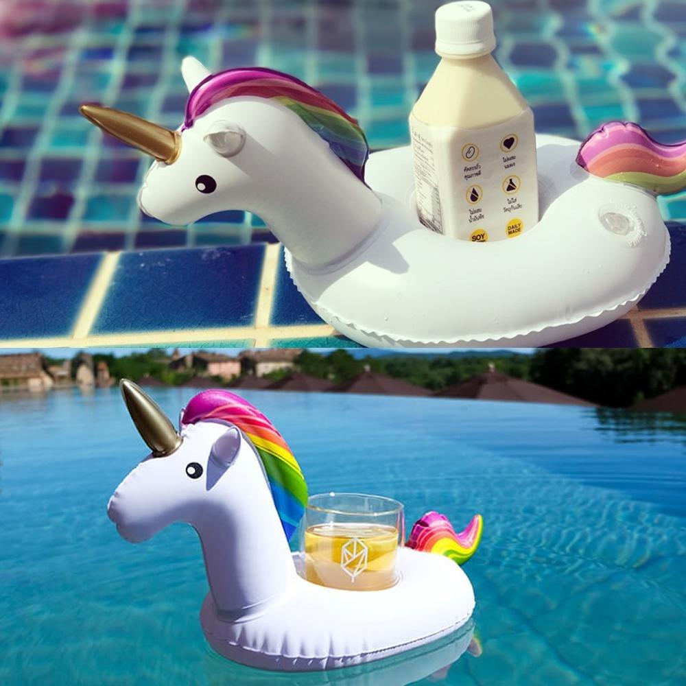 AOLVO - Soporte Hinchable para Bebidas para Piscina: Amazon ...