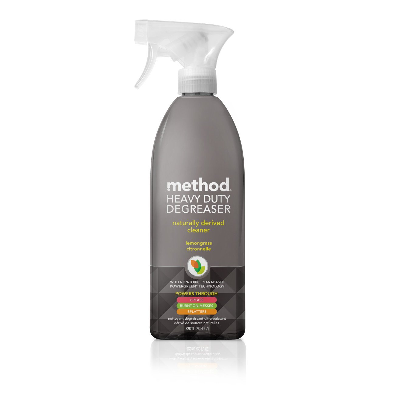 Method Heavy Duty Degreaser, Oven Cleaner and Stove Top Cleaner, Lemongrass, 28 Ounce (8 Count) by Method (Image #1)