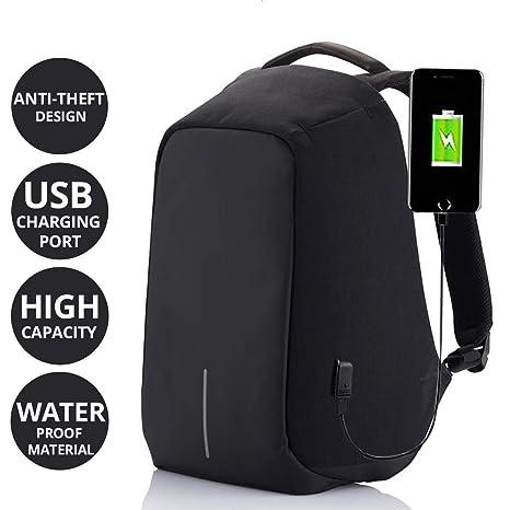 HOLME S Anti-Theft Laptop Backpack Laptop Bag College Bag School Bag ... 83017b2e909c5