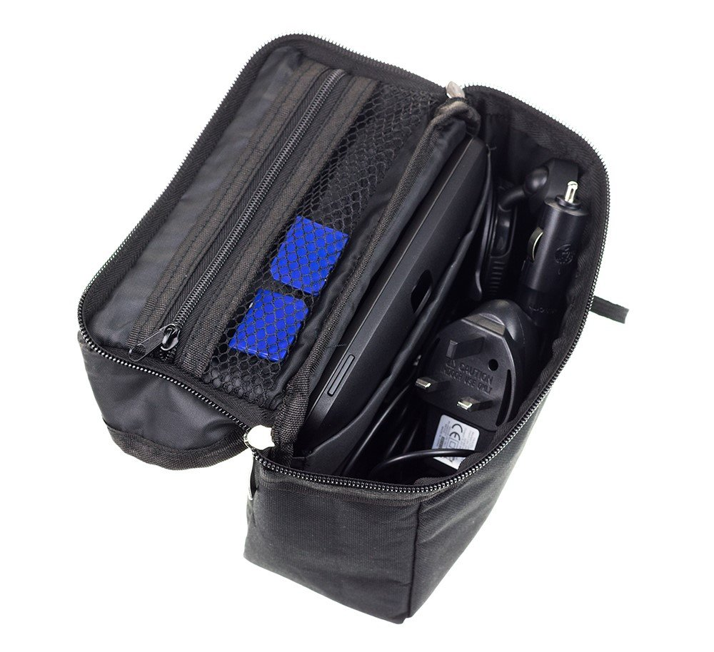 Digicharge Travel Bag Case For TomTom Trucker 6000 Start 60 /& Binatone U605 Sat Nav With Accessory Storage