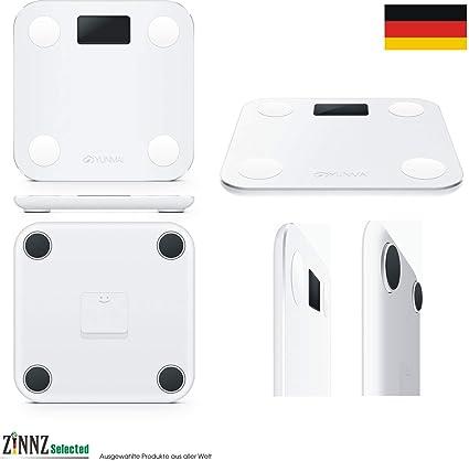 ZINNZ SELECTED yunmai Mini Smart Báscula Báscula de análisis corporal de grasa corporal (Smart Scale