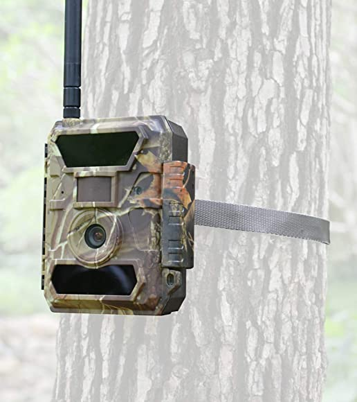 3G Bigfoot Trail Camera – Affordable Data Plan and Easy Setup – Cellular Game Camera- 5, 8, 12mp 1080P Wireless Wildlife Camera-Security Camera- Send Pictures Most Cellphones and Email Addresses