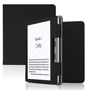ELTD Funda Carcasa para Nuevo Kindle Oasis 2017/2019, Slim Frosted Smart Protectora de Cuero PU Case Cover Funda para Nuevo Kindle Oasis 2017/2019 ...