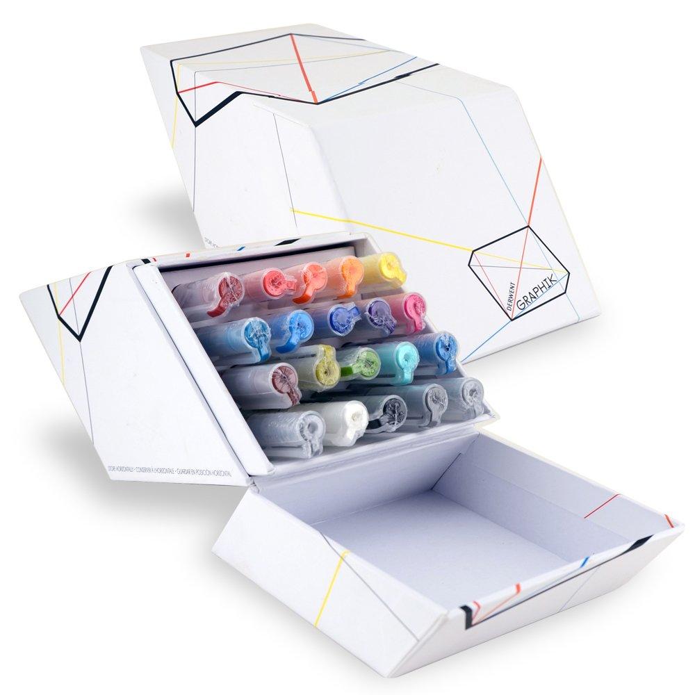 Derwent Graphik Line Painter Set, All 20 Graphik Line Painter Colors (2302234) by Derwent
