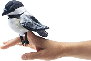 Folkmanis Mini Chickadee Finger Puppet
