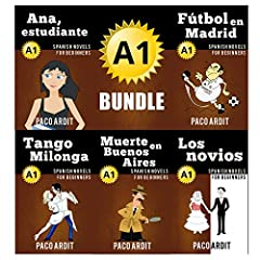 # special bundle offer - 5 books for the price of 3 (save 1.99 USD)Looking for Spanish Novels?I know how tough it is to find good books to help you learn a new language.You usually don't have a large vocabulary.You aren't able to read long an...