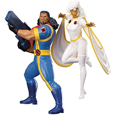 Kotobukiya Marvel: Bishop & Storm ARTFX+ 2 Pack Statue: Toys & Games