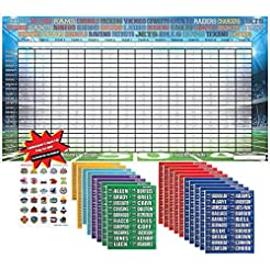2019 Fantasy Football Draft Kit Complete...