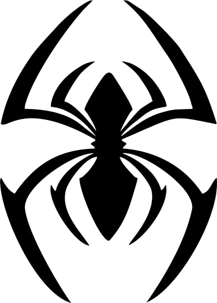 Amazon Marvel Comics Spiderman Scarlet Spider Logo Vinyl