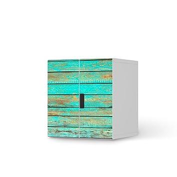 Creatisto Muster Für IKEA Stuva Kommode Schrank   2 Kleine Türen |  Dekorfolien Möbel Folie