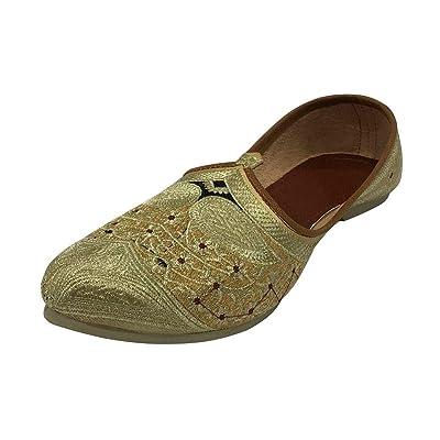 Step n Style Traditional Shoes Mojari for Mens Punjabi Jutti Sherwani Shoes Indian Shoes Mojari Ethnic Shoes | Loafers & Slip-Ons