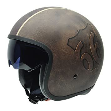 NZI 050299G398 Rolling Freedom by Route 66 Casco de Moto, Talla 60-61 (