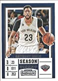 new orleans pelicans tickets - Anthony Davis New Orleans Pelicans 2016-17 Panini Contenders Draft Picks Season Ticket Basketball Card #2