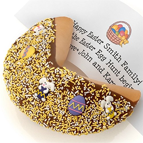 - Easter Decorated Super Giant Fortune Cookie with Your Own Personalized Fortune