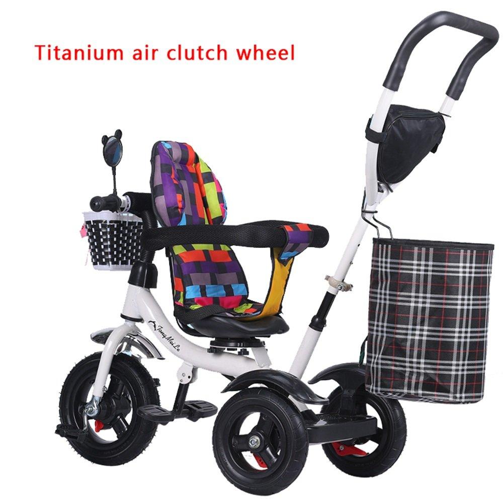 チタンホイールトロリー、ベビーボビーキャビン、バイク、子供用三輪車、子供用自転車 (色 : # 3) B07CZ8BCP9 # 3 # 3