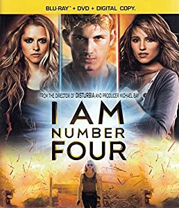 Cover Image for 'I Am Number Four (Three-Disc Blu-ray/DVD Combo + Digital Copy)'
