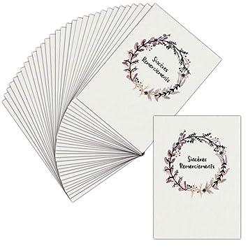 Tarjeta agradecimiento luto - 32 tarjetas - Tarjeta ...