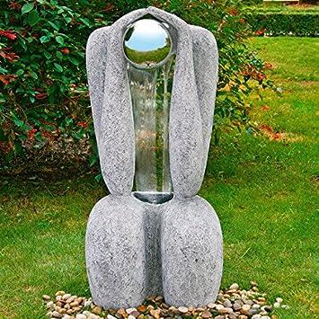 Gärtner Pötschke Wasserspiel Brunnen La Sculptura: Amazon.de: Küche ...