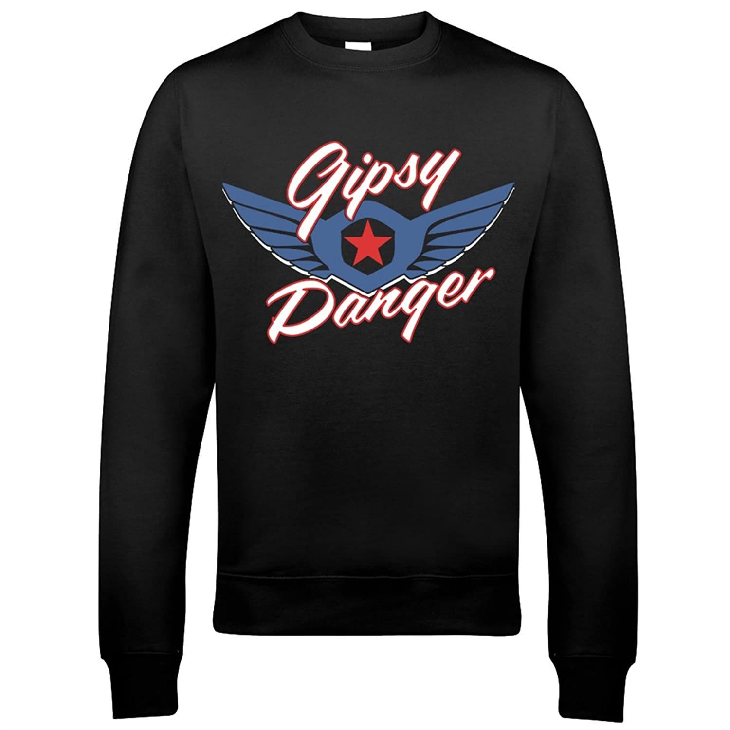 9106 Gipsy Danger Mens Sweatshirt Pacific Rim Crimson Typhoon Striker Eureka Coyote Tango Cherno Alpha