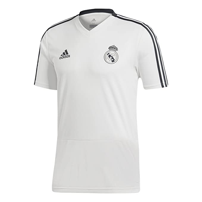 b0a40556c adidas Men s Real Madrid Jersey  Amazon.co.uk  Sports   Outdoors