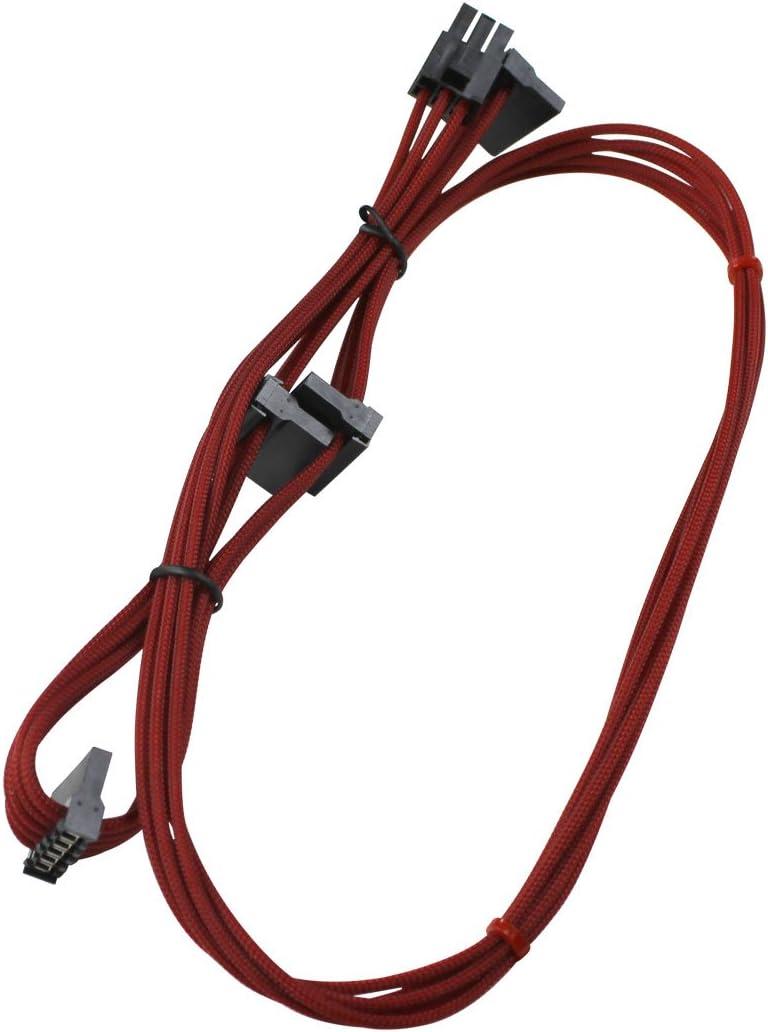 850//1050//1000 Watt Power Supply Cable Set Individually Sleeved 100-CR-1050-B9 EVGA Red GS//PS