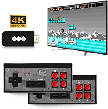 Inalámbrico De Mano De TV Consola De Videojuegos Estructura En 568 Clásico Juego USB De 8 bits De Salida Mini Consola De Soporte De Vídeo HDMI: Amazon.es: Deportes y aire libre