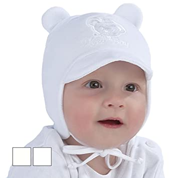 New Baby Boy Hat Boys Autumn Winter Velour Peak Cap Christening Baptism Hat  0-12 mths (3-6 Months 42cm ef5443b6599