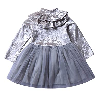 LANSKIRT Ropa para Recién Nacido Infantil bebé niñas Vestido de ...