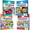 LeapFrog Explorer Learning Game Preschool Readiness Bundle: Science, Math, Reading and Art