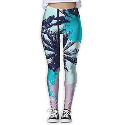 Colorful Leaves Women's Compression Pants Sports Leggings Tights Baselayer Trousers For Yoga&Fitness