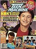 Teen Machine September 1986 Kirk Cameron, Michael J. Fox, Matthew Broderick, Alyssa Milano