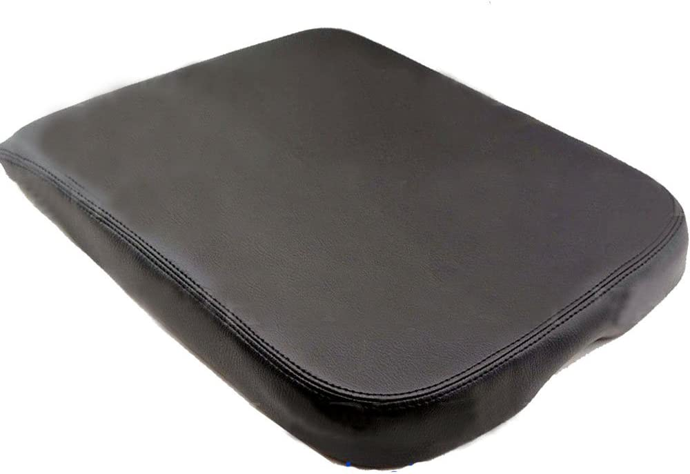 Armrest Center Console Leather Synthetic Cover for Dodge Ram 02-08 Gray
