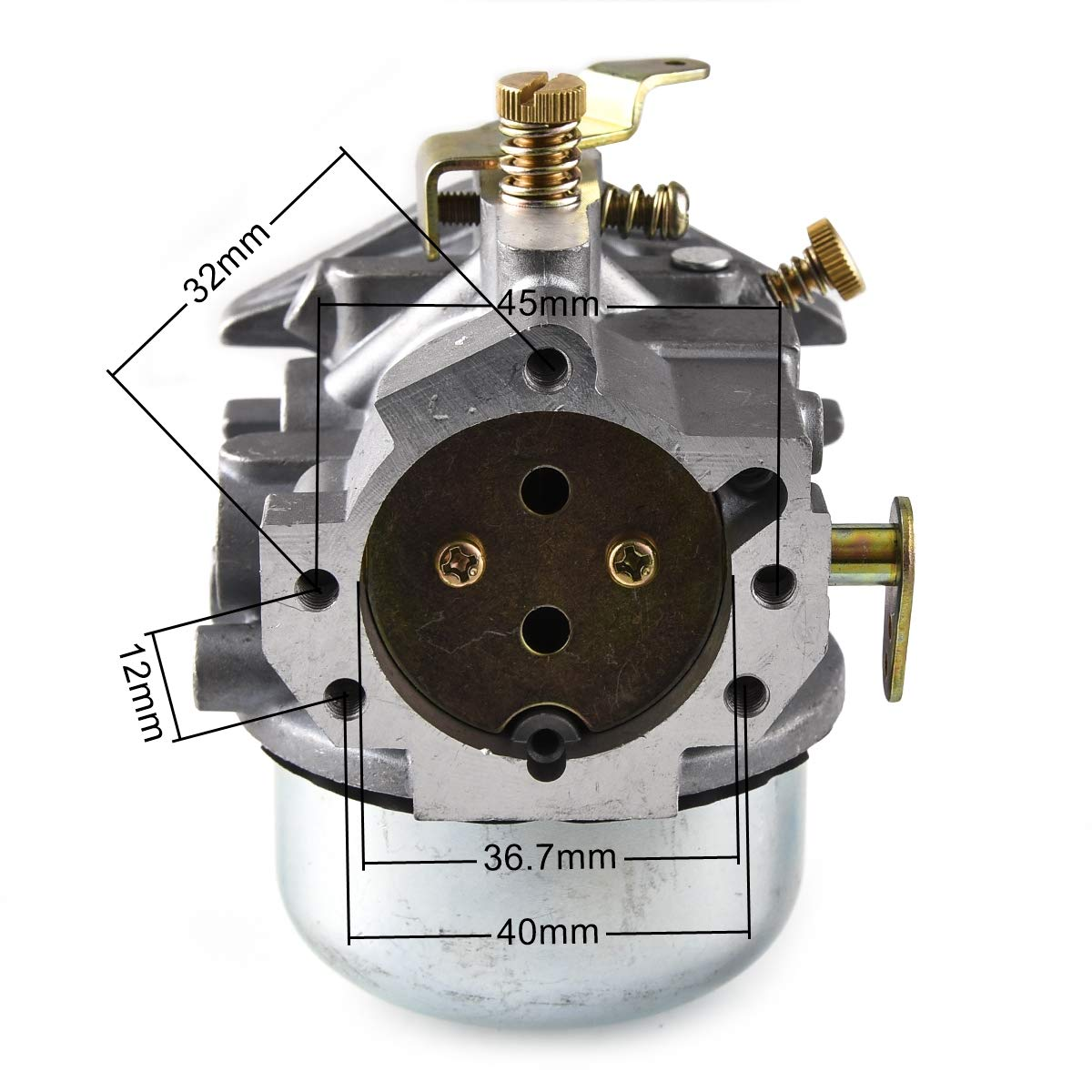 52-053-28 RUHUO Carburetor Carb for Kohler Magnum KT17 KT18 KT19 M18 M20 MV18 MV20 52-053-09 52-053-18