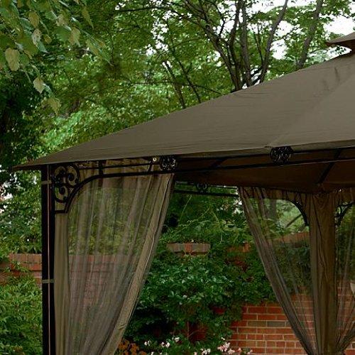 Garden winds fair oaks gazebo replacement canopy riplock for Garden winds replacement canopy