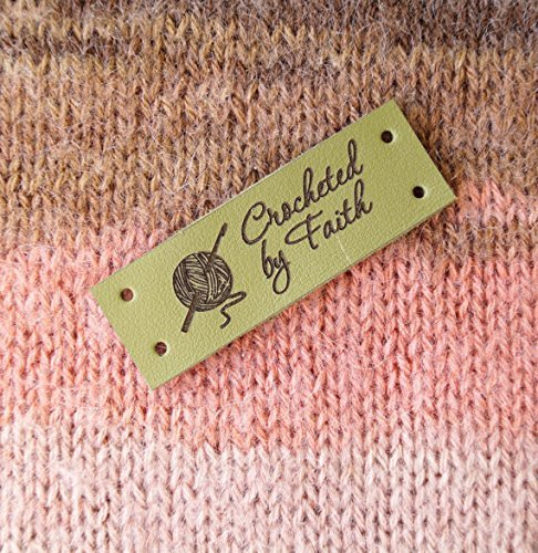 Crochet Labels Custom Clothing Labels Knitting Labels Leather