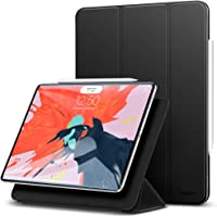ESR Case for iPad Pro 11 inch 2018 Release, [Apple Pencil Compatible] Magnetic Smart Case, Trifold Stand Magnet Case, Magnetic Attachment, Auto Sleep/Wake, Rubberized Cover, Black