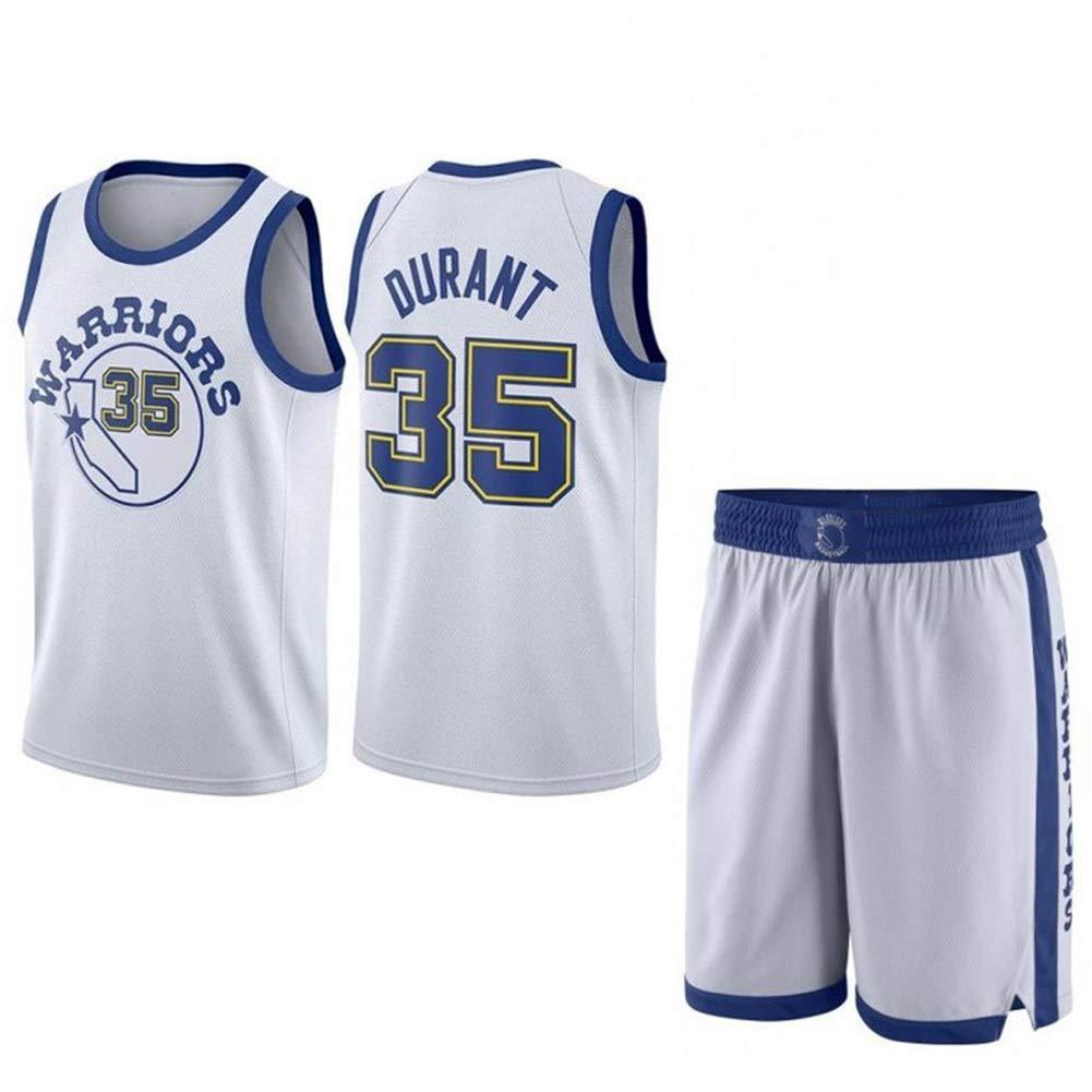 Natural M Kevin Durant   35 Jersey Basketball Masculin - NBA oren State Warriors, Basketball engrener Hommes Swinghomme Jersey Manches Sport Débardeur et courte