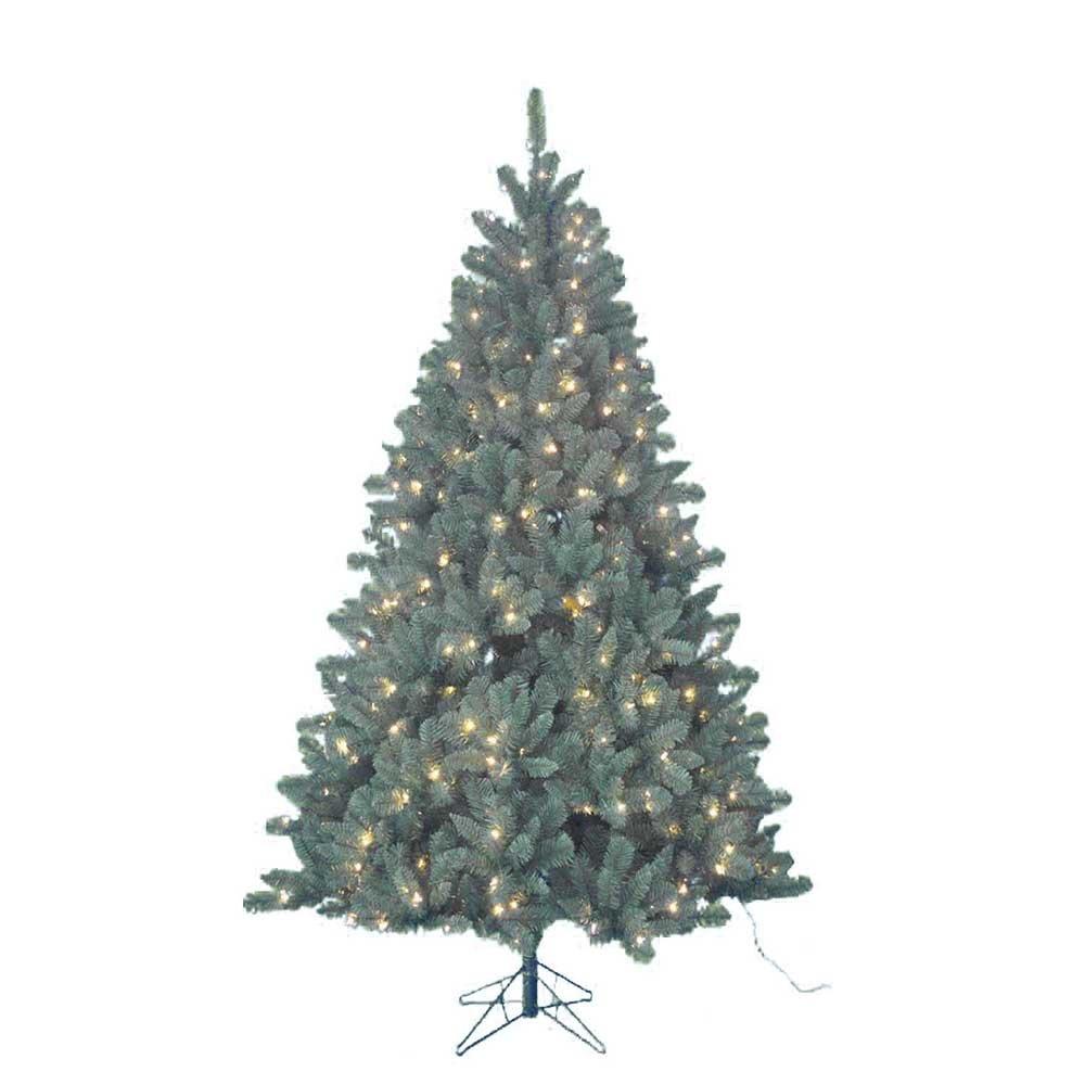 Kurt Adler Pre-Lit Northwood Pine Tree, 7-Foot