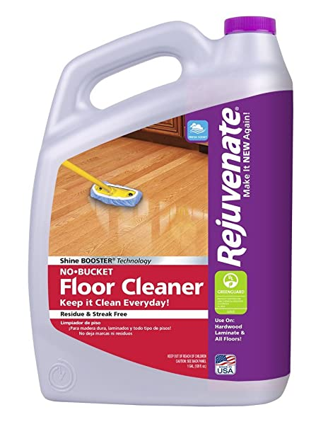 Amazon Rejuvenate No Bucket Floor Cleaner Fresh Scent 1 Gallon